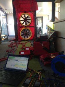 Internal Setup, Commercial Air Pressure Test, Stoke-On-Trent, Staffordshire, Douglas Macmillan